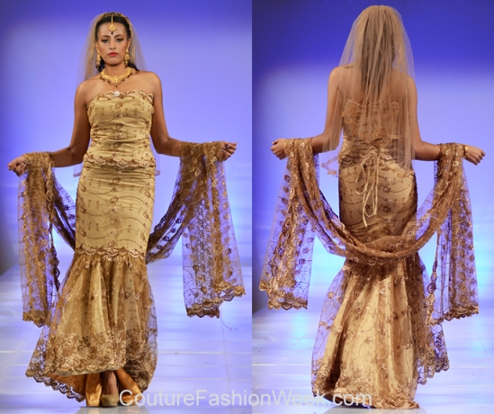 TeKay Designs Fashion Show at Couture Fashion Week NY